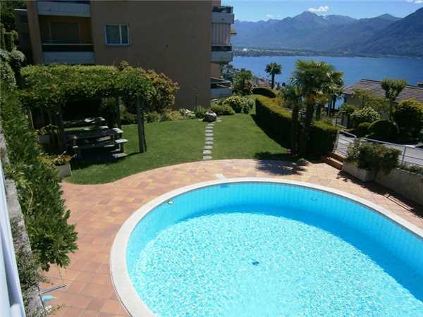 Ferienwohnung Belvedere, Locarno-Monti, Lago Maggiore (CH), Tessin, Schweiz, Bild 1
