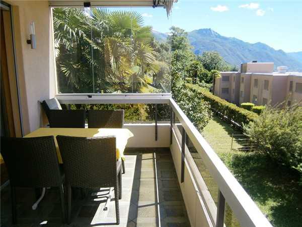 Ferienwohnung Belvedere, Locarno-Monti, Lago Maggiore (CH), Tessin, Schweiz, Bild 7