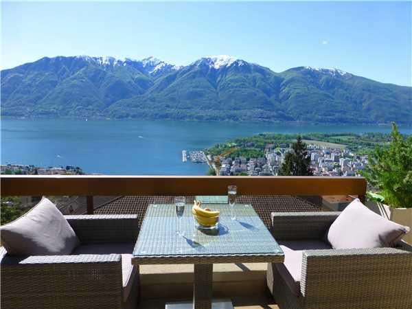 Ferienwohnung Collina d'Oro , Orselina, Lago Maggiore (CH), Tessin, Schweiz, Bild 7