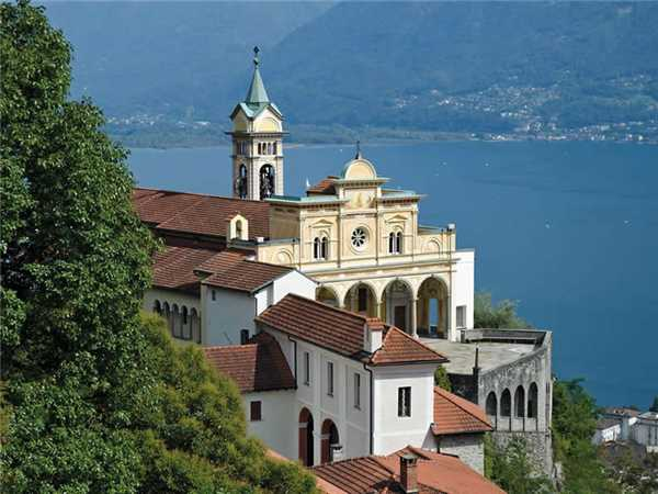Ferienwohnung Collina d'Oro , Orselina, Lago Maggiore (CH), Tessin, Schweiz, Bild 15