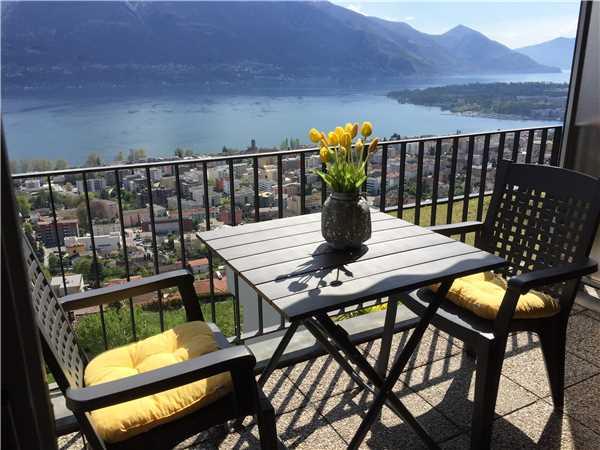 Ferienwohnung Nibbio attico, Minusio, Lago Maggiore (CH), Tessin, Schweiz, Bild 5