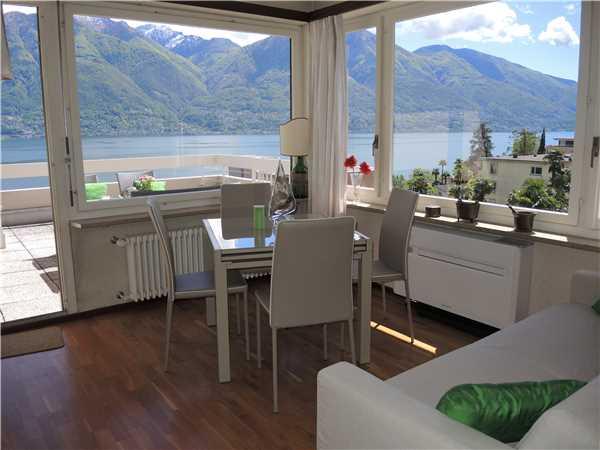 Ferienwohnung Attikawohnung Luciana, Locarno-Minusio, Lago Maggiore (CH), Tessin, Schweiz, Bild 2