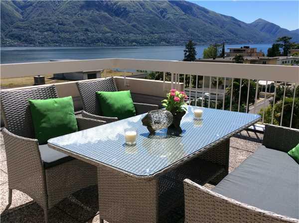 Ferienwohnung Attikawohnung Luciana, Locarno-Minusio, Lago Maggiore (CH), Tessin, Schweiz, Bild 7