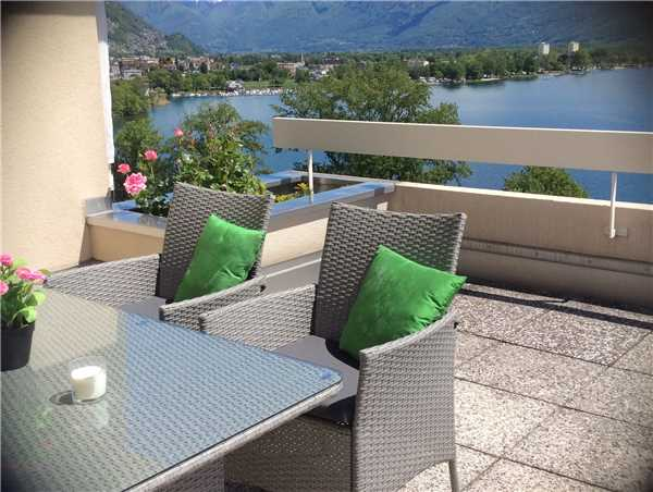Ferienwohnung Attikawohnung Luciana, Locarno-Minusio, Lago Maggiore (CH), Tessin, Schweiz, Bild 8