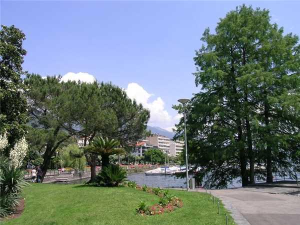 Ferienwohnung Attikawohnung Luciana, Locarno-Minusio, Lago Maggiore (CH), Tessin, Schweiz, Bild 12