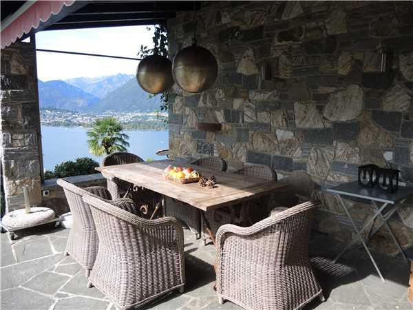 Ferienhaus Casa Gioia, Gerra  Gambarogno, Lago Maggiore (CH), Tessin, Schweiz, Bild 24