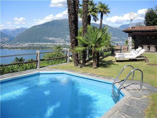 Ferienhaus Casa Gioia, Gerra  Gambarogno, Lago Maggiore (CH), Tessin, Schweiz, Bild 4
