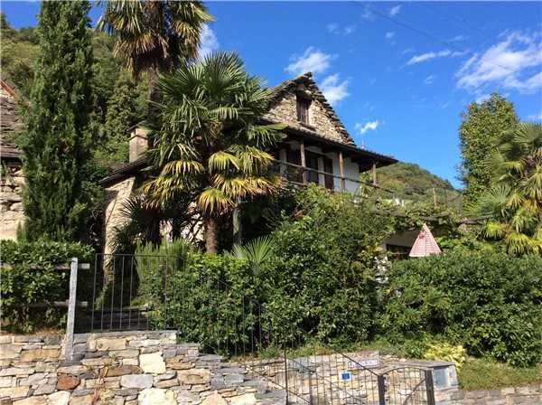 Ferienhaus 'Al Torchio Rustico' im Ort Bugaro Riazzino