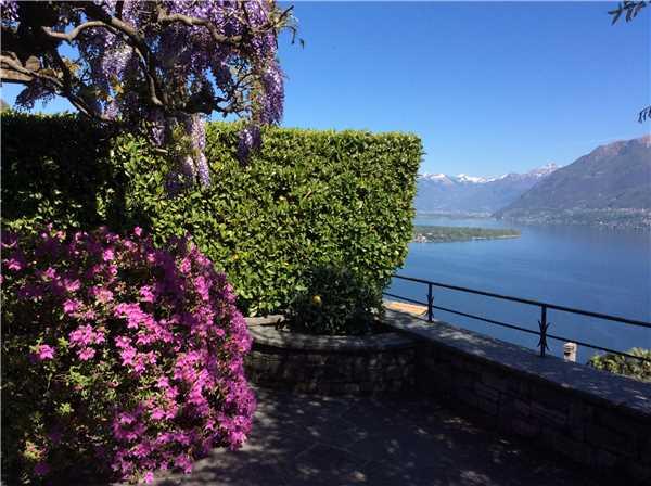 Ferienhaus Casa Carlotta, Ronco sopra Ascona, Lago Maggiore (CH), Tessin, Schweiz, Bild 20