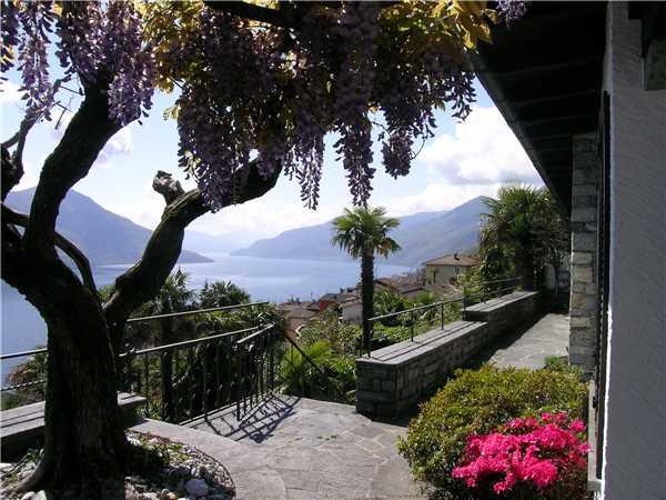 Ferienhaus Casa Carlotta, Ronco sopra Ascona, Lago Maggiore (CH), Tessin, Schweiz, Bild 19