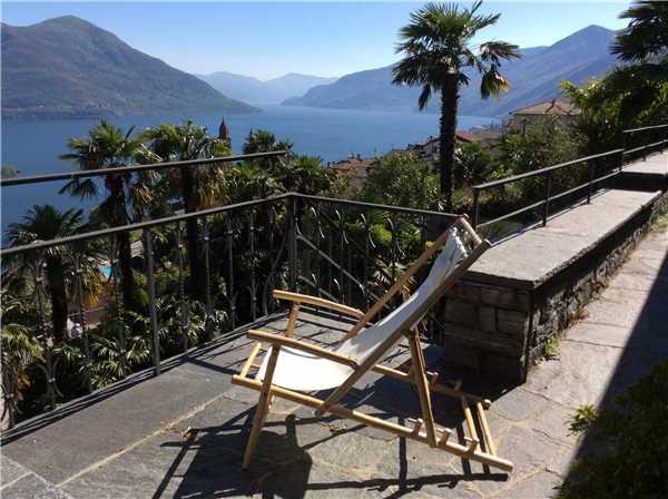 Ferienhaus 'Casa Carlotta' im Ort Ronco sopra Ascona