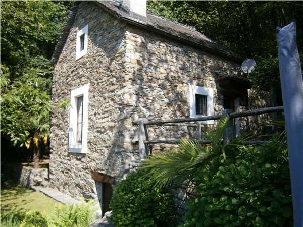 Ferienhaus Rustico Gatto & Topolino, Agarone, Lago Maggiore (CH), Tessin, Schweiz, Bild 33