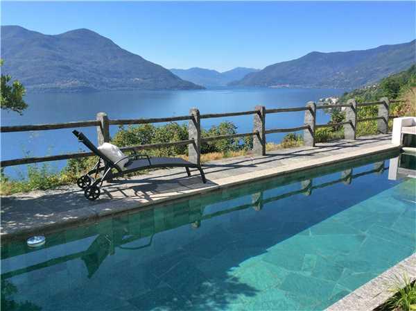 Ferienhaus 'Casa Artista ' im Ort Ronco sopra Ascona