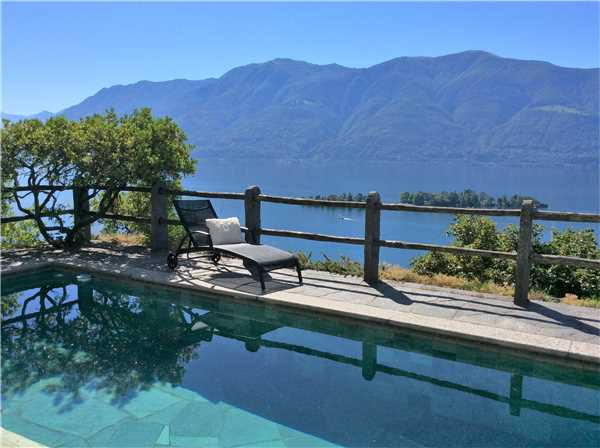 ferienhaus 39 villa artista 39 ronco sopra ascona lago. Black Bedroom Furniture Sets. Home Design Ideas