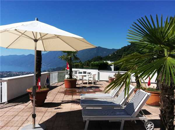 Holiday apartment Attikawohnung La Robinia, Brione s/Minusio, Lake Maggiore (CH), Ticino, Switzerland, picture 1