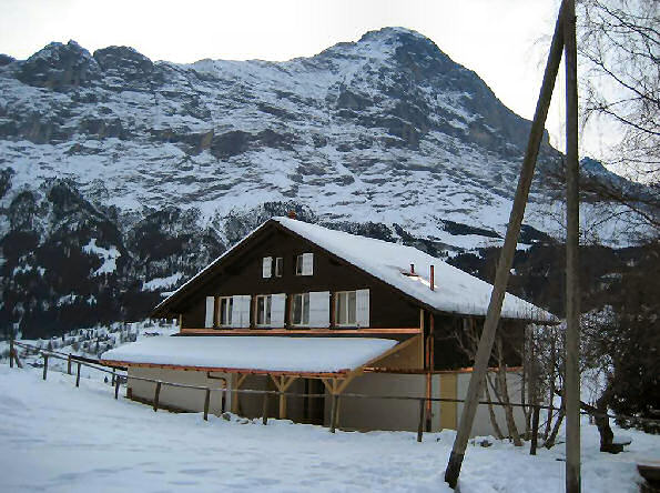 Holiday house Chalet Syrinx, Grindelwald, Jungfrau Region, Bernese Oberland, Switzerland, picture 1