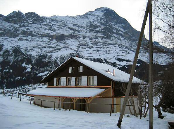 Ferienhaus 'Chalet Syrinx' im Ort Grindelwald