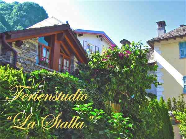 Ferienwohnung 'La Stalla' im Ort Aurigeno
