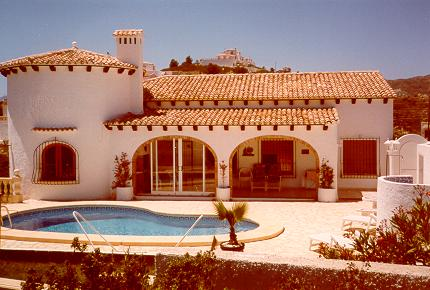 Holiday home Casa el Pico, Dénia, Costa Blanca, Valencia, Spain, picture 1