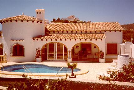 Ferienhaus 'Casa el Pico' im Ort Dénia